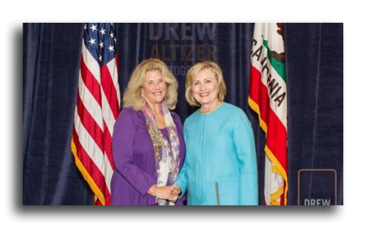Victoria-Feldman-and-Hillary-Clinton
