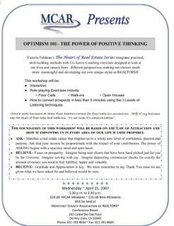 Optimism Monterey County Association of Realtors
